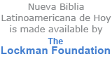 Nueva Biblia Latinoamericana de Hoy is made available by The Lockman Foundation